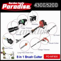 Hot Multifunction Brush Cutter Lawn Mower 43cc 52cc On Sale