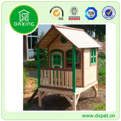 Children Wood Cubby House DXPH010