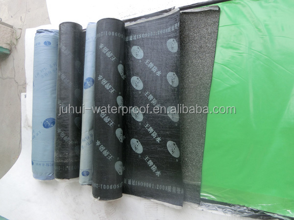 cold applied Self-adhesive SBS/APP modified bitumen waterproof membrane/Coil/roll/sheet/waterproofing bitumen membrane