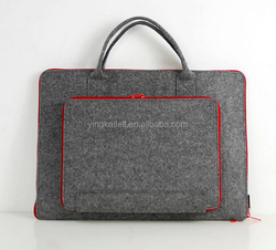 Felt computer Briefcase felt laptop bag notebook inner bag can customize felt bag