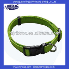 eco-friendly custom design fresh color pet collars for wholesale