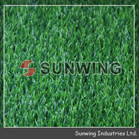 PP woven cheap outdoor landscaping synthetic grass carpet