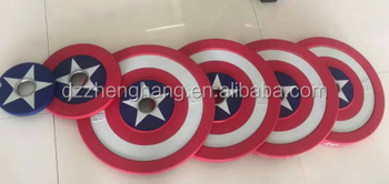 2017 new hottest selling Captain America PU Plate