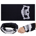 Polyester microfiber custom made multi head tubular seamless bandana