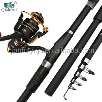 Factory Supply Glass fiber Lure Boat Spinning Fishing Rod