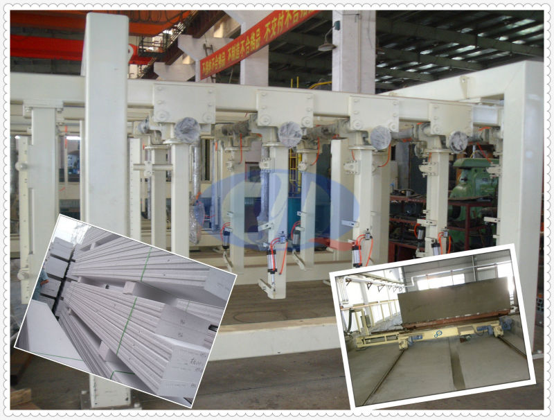 AAC Fly Ash Lightweight Block Plant Cutting Machine, AAC Block Cutter