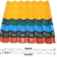 4x8 Corrosion Resistance Roofing Materials Plastic