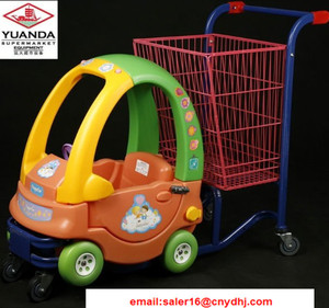 Colourful Children Shopping Carts / Supermarket / Grocery Funny Kids Shopping Trolley
