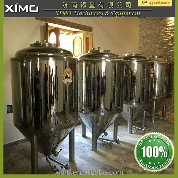 beer brewing equipment manufacturing plant , stainless steel tank for wine and beer used