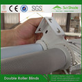 Plastic Chain & Metal Chain Double Fabric Roller Shades