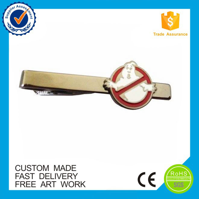 Wholesale OEM eco-friendly cheap custom brass custom tie clips