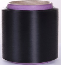 bonding fiber low melt polyester fiber fusible PET hot melting yarn black 150D