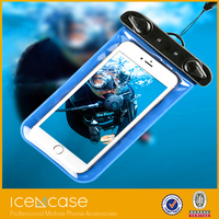 Wholesale Mobile Phone PVC Waterproof Bag for iphone,for iphone waterproof case ,compatible with samsung galaxy note, S4 S3
