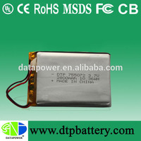 3000mah customize power bank or portable bank for iphone with lithium ion battery