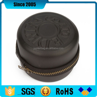 pu leather cover eva watch case for man with debossed logo