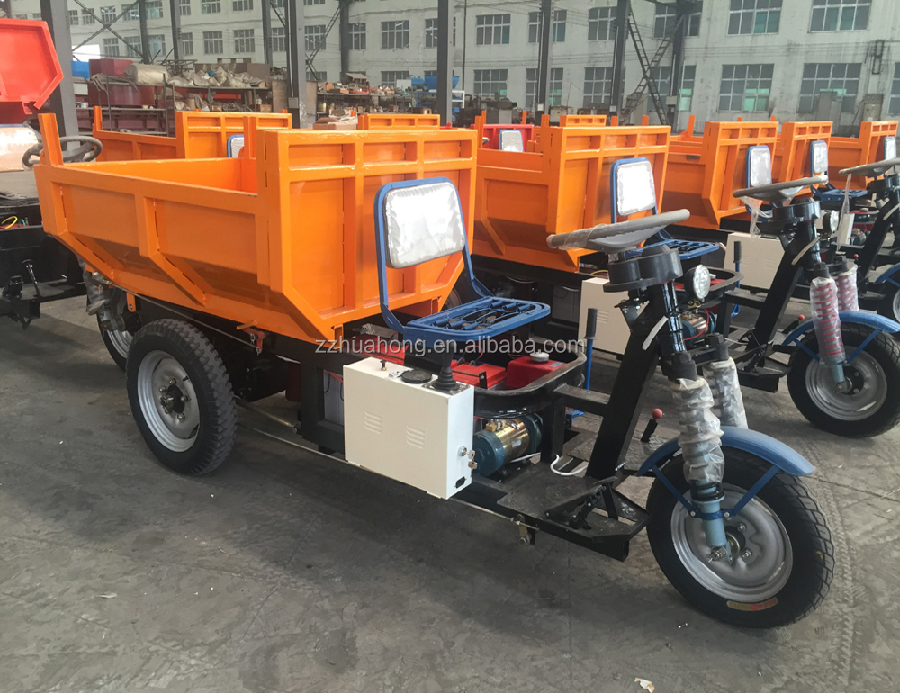 garbage tricycle, Cargo Passenger Three Wheeler Electric Tricycle