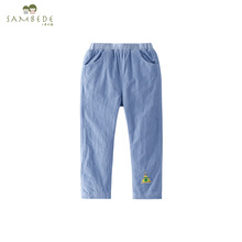 SAMBEDE Wholesale Plain Custom Baby Child Trousers aby Boby Clothes Pant SM7Q30578