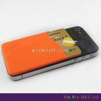 2014 Hot 3M sticker for woman wallet,3M sticker for leather card holder,3M sticker for aluminum card holder