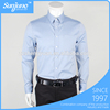 2017 Lastest OEM High quality long sleeve fitted dress cotton white shirts for man in winter