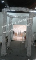 Large big crystal linghting centerpieces/crystal wedding stage decorations