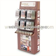 High quality wall mounted cardboard paper brochure holder
