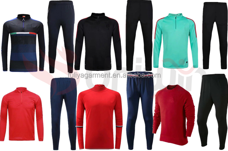 top quality good soccer jersey manufacturer blank tracksuits