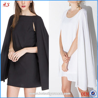 Fashion New Style Summer Wholesale Names Of Ladies Girls Cape Crepe Dresses