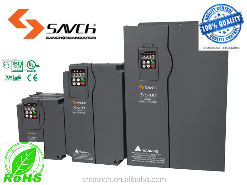 1.5kw~22kw 3 phase Permanent magnet synchronous servo motor drive inverter