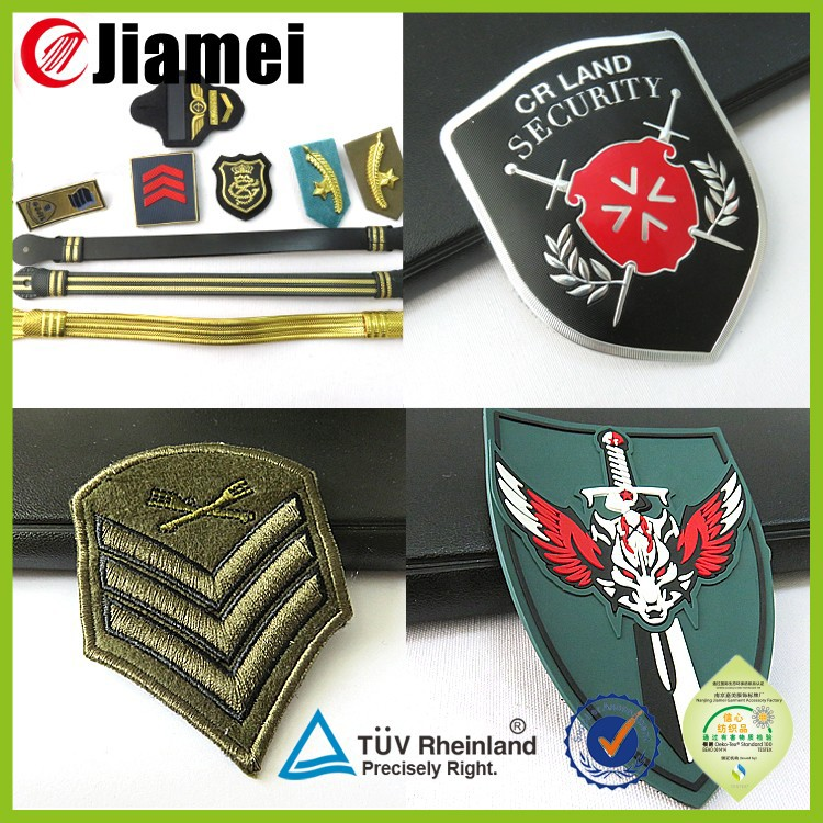 China new embroidery chevron badges airline embroidered patches