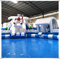 Cheap Inflatable Water Park For Sale, Portable Water Park Slide Games