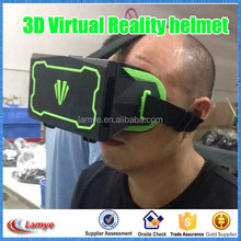 New Power ABS Black And Green 3D glasses 3D Virtual Reality New Model Helmet, Helmet Manufacturer for all phones