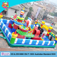 Factory price Large Inflatable fun city / inflatable playground