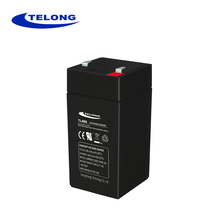 For UPS storage battery 4v 6ah rechargeable sealed lead acid battery
