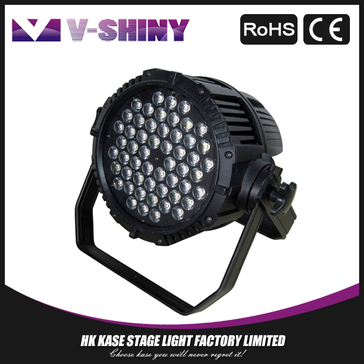 3W54 waterproof dmx led par rgb stage lighting