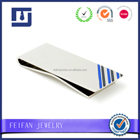 Promotional enamel money clip for men