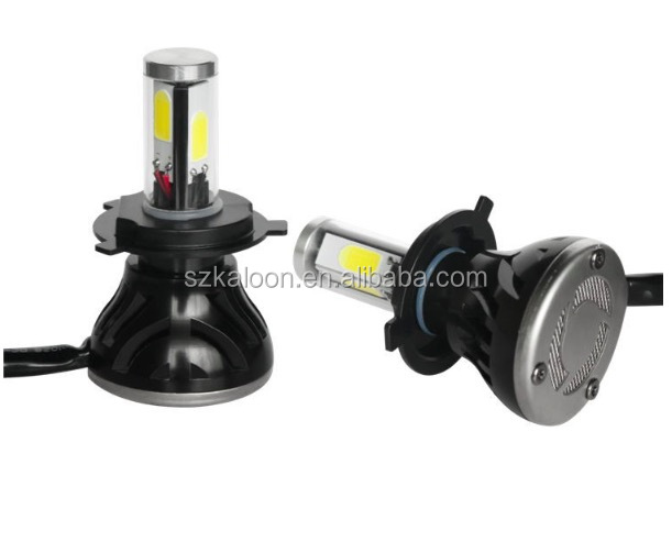auto led car headlight H1 H4 H7 high brightness 4000lm