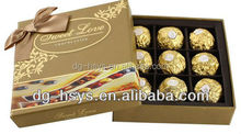 popular style Chocolate packaging box