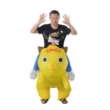 high quality Inflatable dog costume for adults