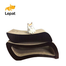 Pet furniture kitty scratching board cat playing platform