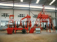 Double Drums Mobile Asphalt Hot Mix Plant