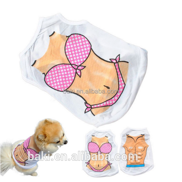 Wholesale Pet Summer cool Vest Bikini Sexy Dog Clothes