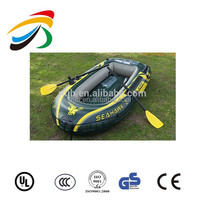 cheapest INTEX 68347 200kg 2 persons cheap SeaHawk Inflatable Boat with outboard electric motor