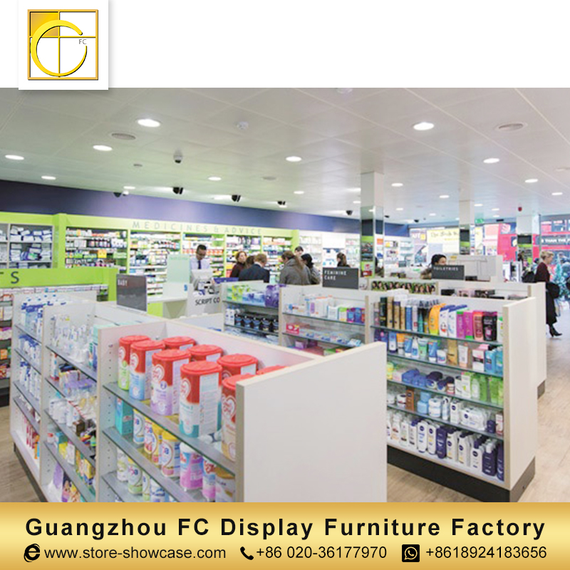 custom useful furniture medical store furniture pharmacy shop counter design medical shop interior design