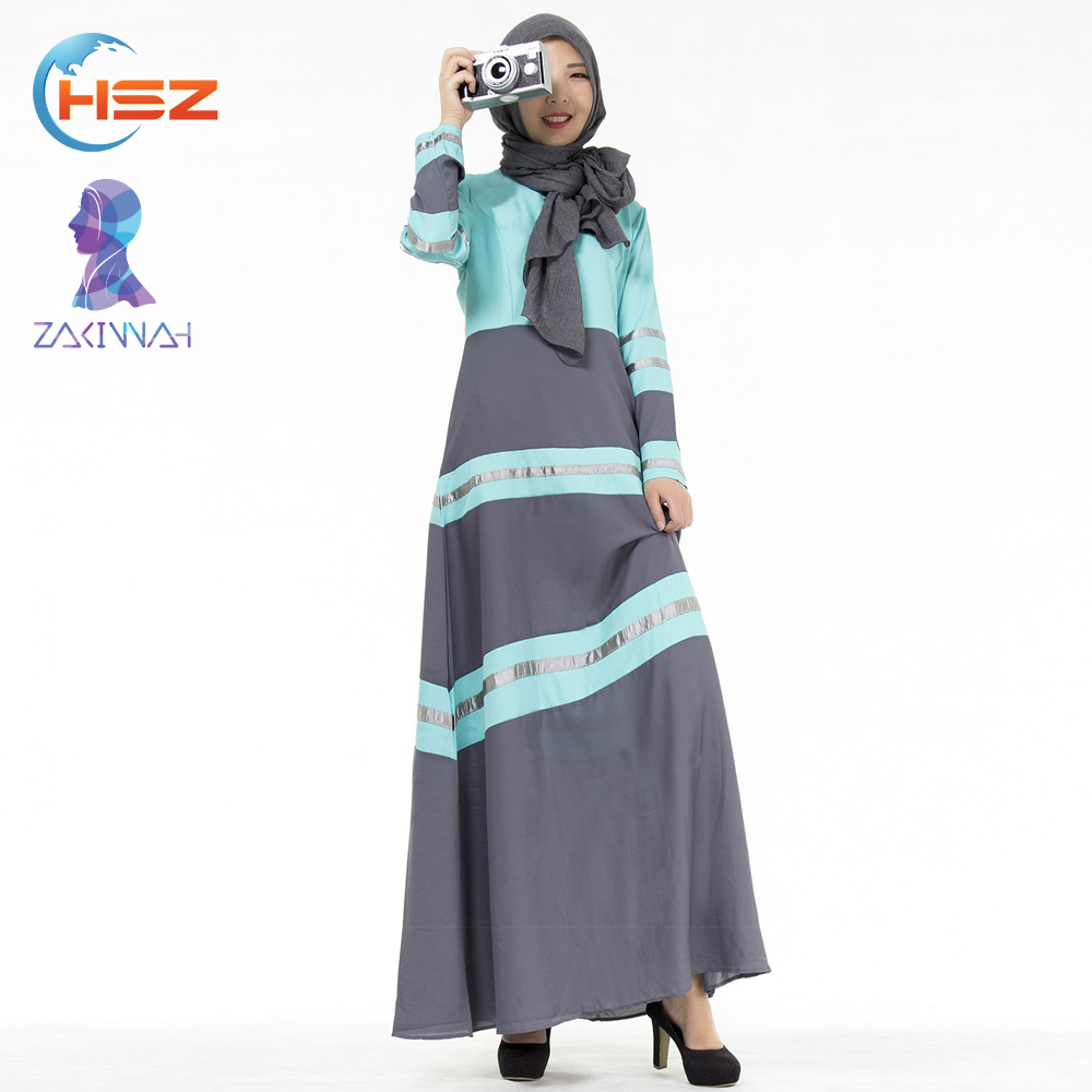Zakiyyah 20006 Wholesale Arabic Branded Clothing Defect Abaya Burqa Kaftans India