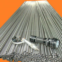 Stainless UNS 31803 duplex welded pipe