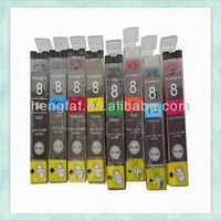 Compatible ink inkjet cartridge CLI-8PC 8PC CLI-8PM 8PM CLI-8G 8G CLI-8R 8R CLI-8BK/C/M/Y/PC/PM for Canon 4200/5300