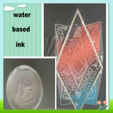 water based silk screen printing ink white clear paste for T-shirt