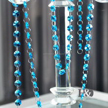 MH-DS0077 Crystal Clear Bead Garland Chandelier Hanging wedding decoration