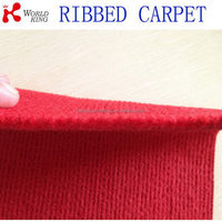 New factory direct waterproof back carpet ribbed