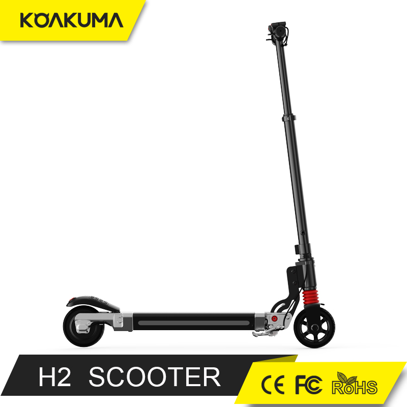 2017 New Model Hot Products Lightest Carbon Fiber Foldable Electrical Scooter